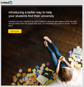 LinkedIn College Search